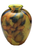 dappled apple - vase
