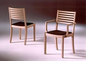 chair GM 545 and a/chair GM 546 -oak
